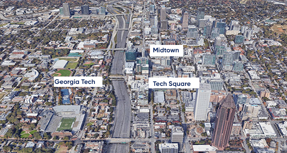 Why Midtown is Considered Atlanta's Live, Work, Play Submarket