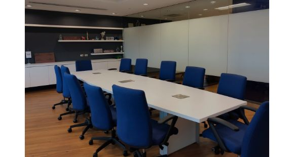 801 Warrenville - conf room