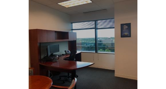 801 Warrenville - private office