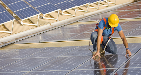 Third-Party Owned and Operated Solar Power for Commercial Real Estate Owners