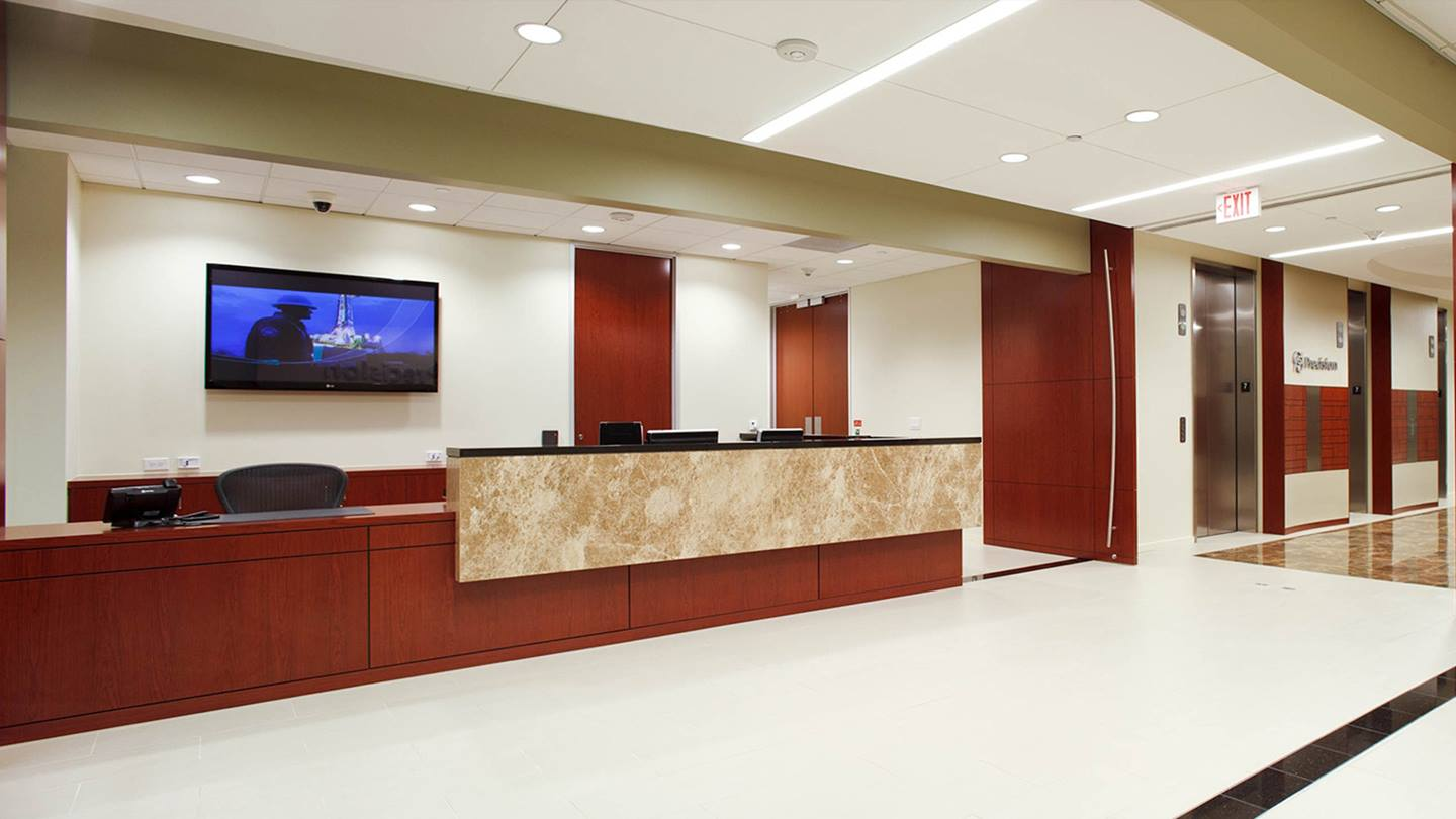 Precision Drilling Office Lobby