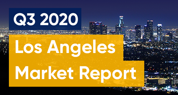 Los Angeles Q3 2020 market report - stay safe LA