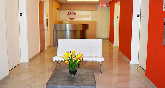 131 West 33rd Street reception
