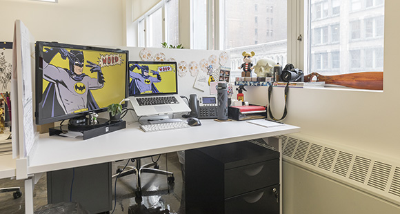 50 West 23rd Street Workstation