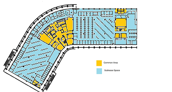 1000 AAA Sublease Floor Plan