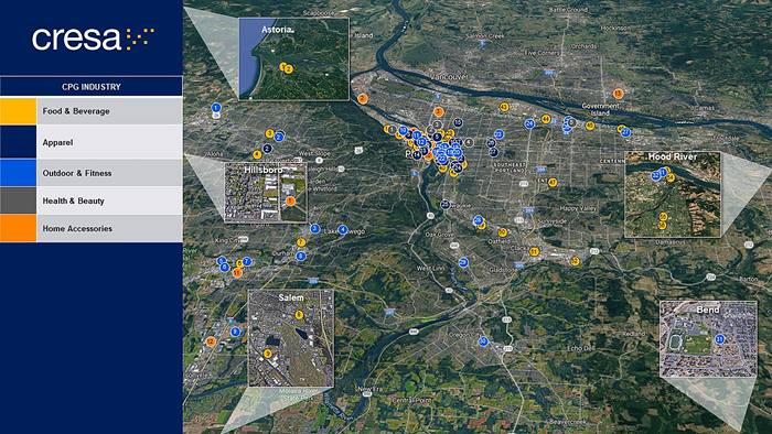 CPG Portland Industry Map