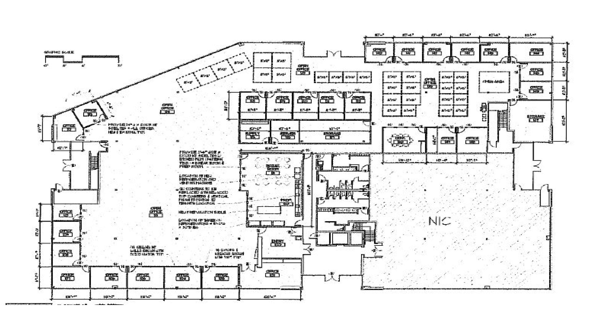 Sacramento Office Floorplan 10940 White Rock Road